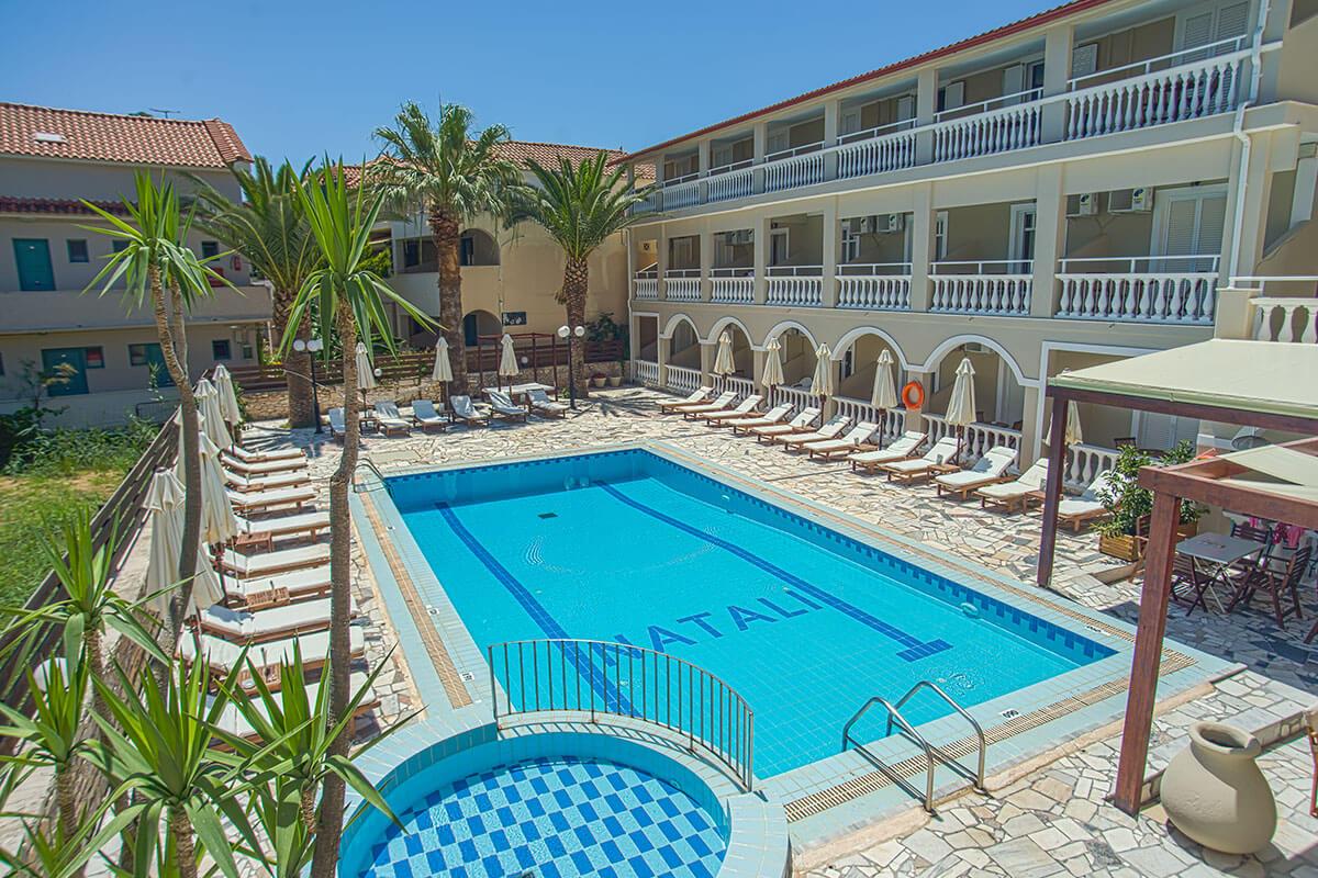 Natalie Hotel Laganas Zante Zakynthos Island Greece
